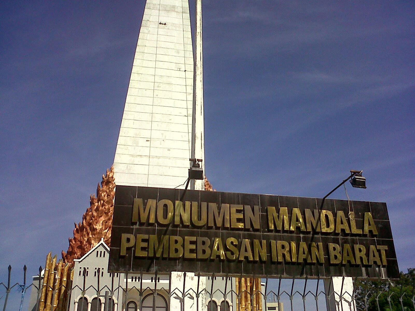 Monumen Mandala Makassar Pembebasan Irian Barat Kota