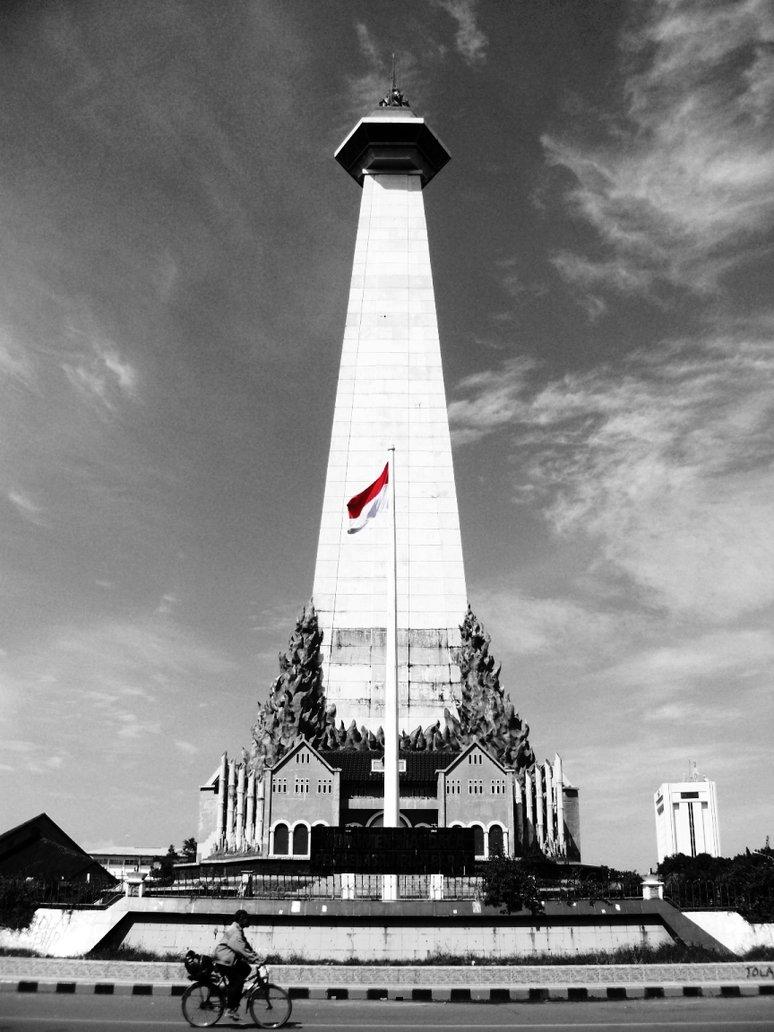 Monumen Mandala Makassar Penghargaan Pejuang Bangsa Celebes Bangunan Menara Menjulang