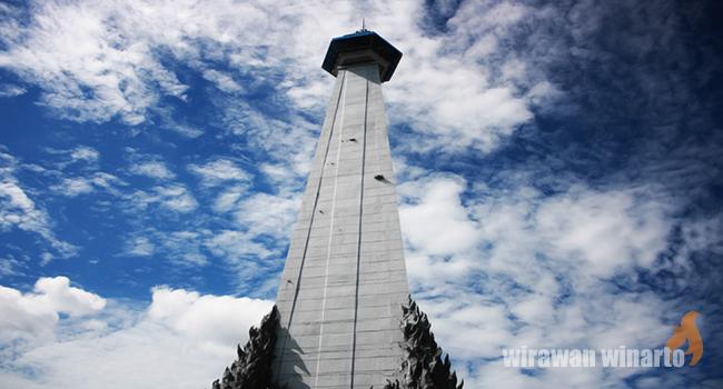 Monumen Mandala Makassar Tunawisma Lima Belas Papua Jatuh Tangan Belanda