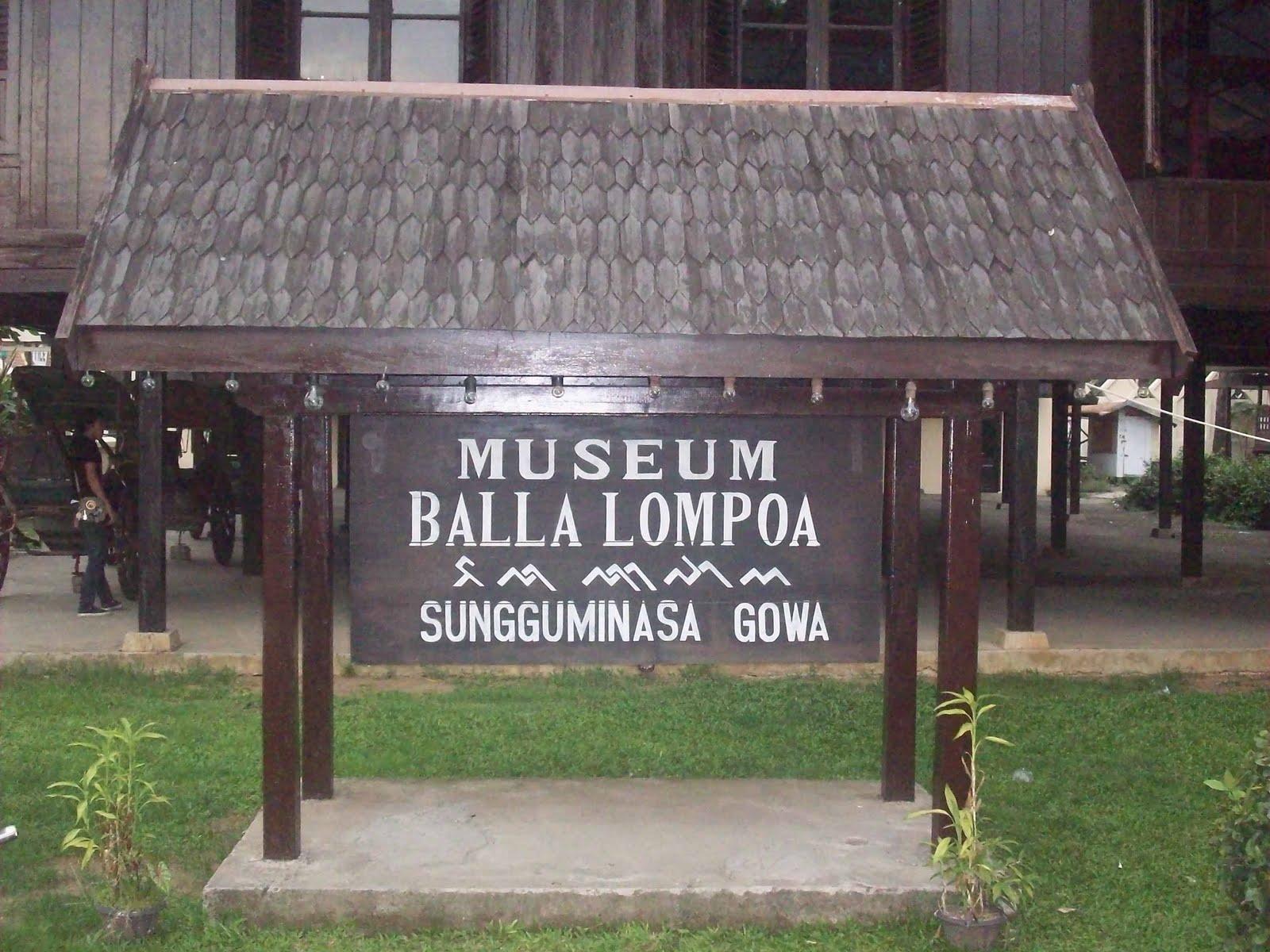 Arung Pallaka Wisata Tour Travel Museum Balla Lompoa Sungguminasa Rekonstruksi