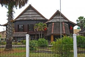 Balla Lompoa Gowa District Traditional House Kinds Indonesia Museum Kota