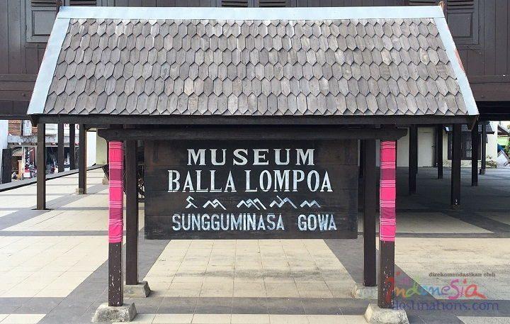 Balla Lompoa Museum Interesting Points Gowa Kingdom Indonesia Image Photo