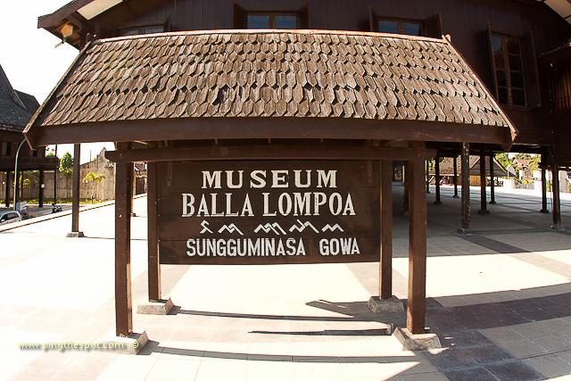Balla Lompoa Museum Makassar Kota