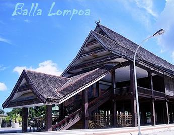 Balla Lompoa Rumah Adat Makassar Indonesia Raja Alam Indah Museum
