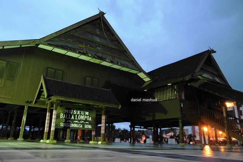 Balla Lompoa Samleinad Museum Gowa Kota Makassar