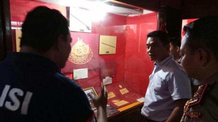 Breaking News Tim Mabes Polri Datangi Museum Balla Lompoa Tribun
