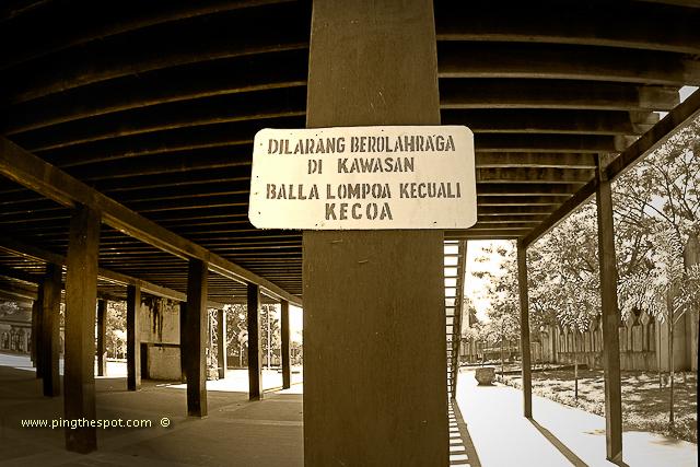 Istana Tamalate Museum Balla Lompoa Gowa Ping Spot Original Palace
