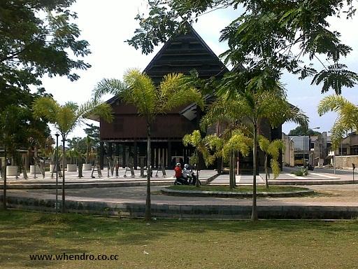 Museum Balla Lompoa Gowa Sulawesi Selatan Whendro Blog Bentuk Unik