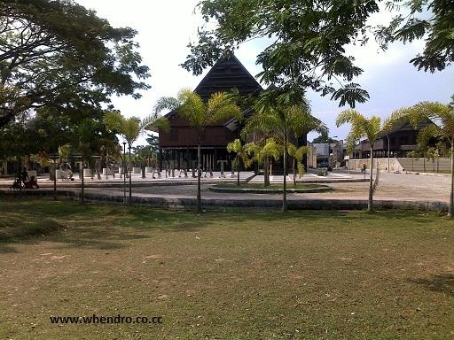 Museum Balla Lompoa Gowa Sulawesi Selatan Whendro Blog Setelah Jalan