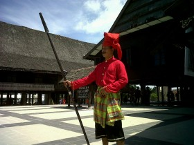 Nuansa Kerajaan Gowa Museum Balla Lompoa Tribun Timur Kota Makassar