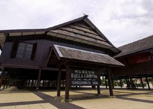 Objek Wisata Menarik Museum Balla Lompoa Pangkajene Sulawesi Selatan Kota