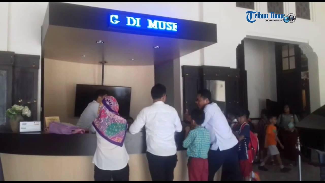 600 Murid Sd Kunjungi Museum Kota Makassar Youtube
