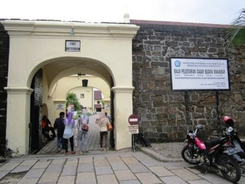Benteng Rotterdam Museum La Galigo Makassar Sulawesi Selatan Youtube Kota