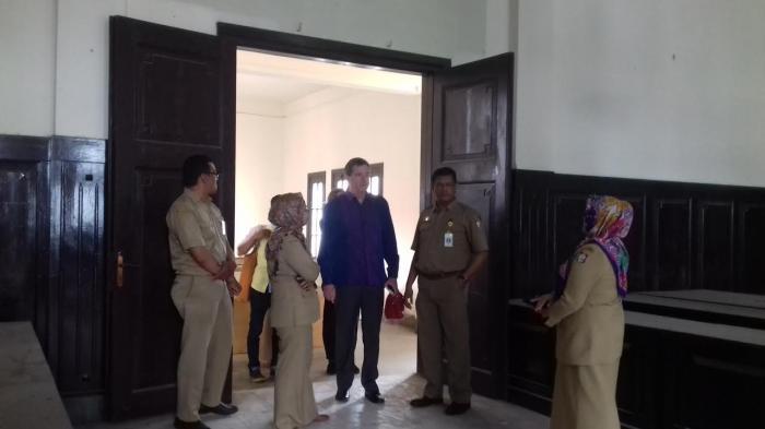 Konjen Australia Makassar Sambangi Museum Kota Tribun Timur