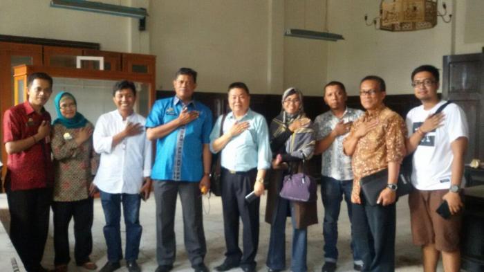 Makassar Heritage Community Kunjungi Museum Kota Tribun Timur