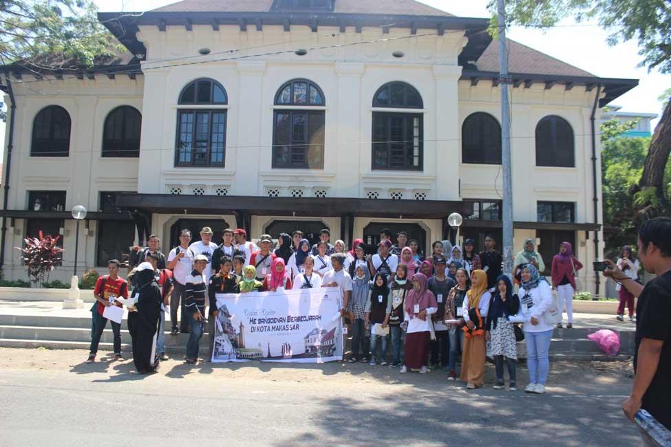 Mengenal Sejarah Kota Makassar Wisata Nol Depan Museum Bersama Ir