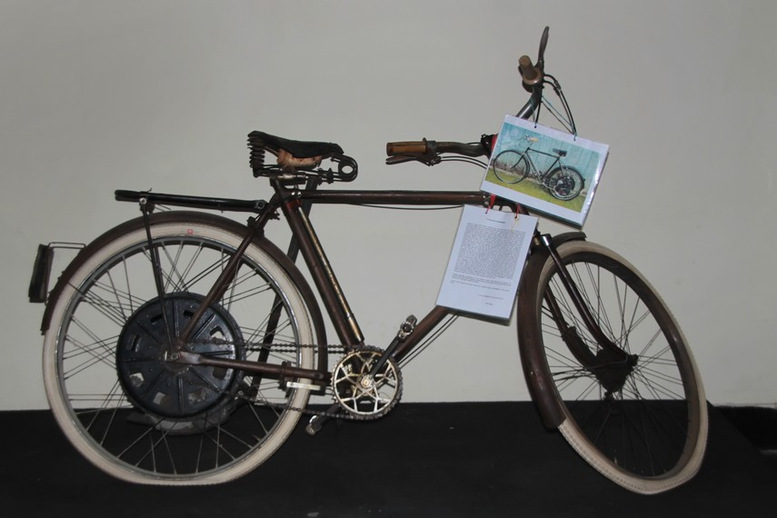 Sejarah Kota Makassar Tempat Indonesiakaya Sepeda Peninggalan Zaman Belanda Museum