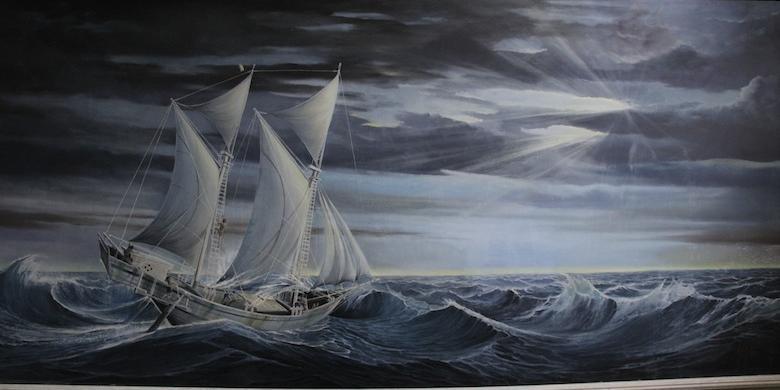 Berawal Cinta Jejak Pinisi Museum La Galigo Kompas Koleksi Lukisan
