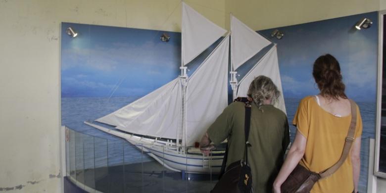 Berawal Cinta Jejak Pinisi Museum La Galigo Kompas Kota Makassar