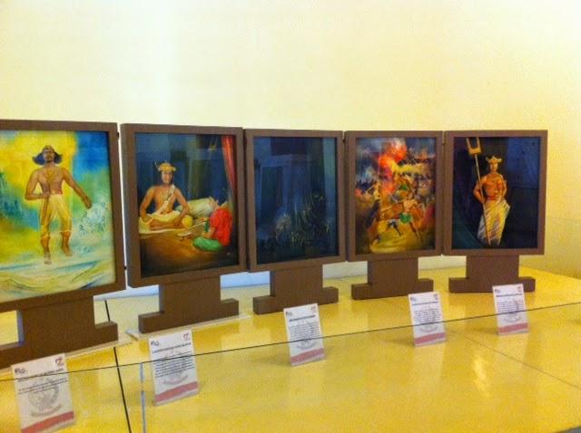Journey Berkunjung Museum La Galigo Fort Rotterdam Makassar Lukisan Turunnya