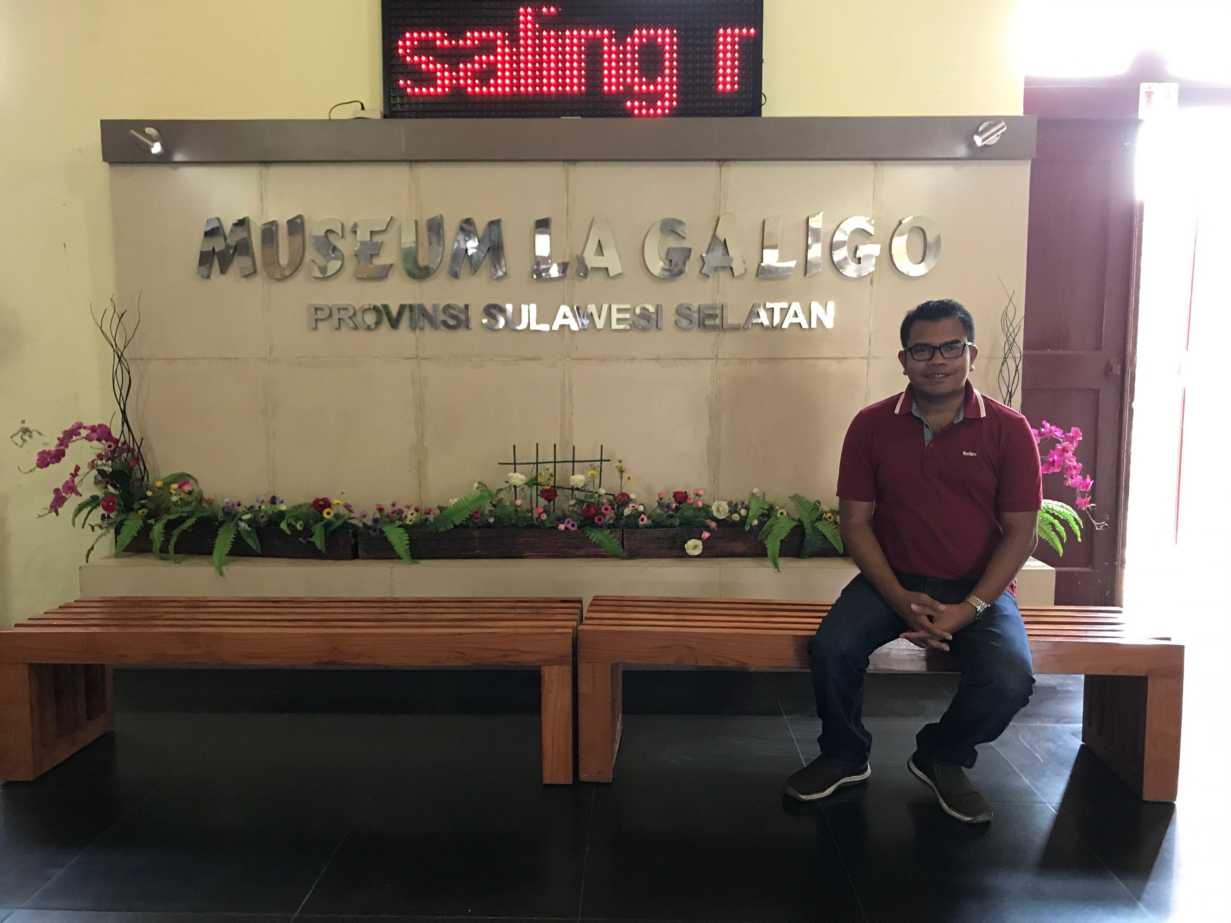 Pulotravels 17 Melihat Koleksi Museum La Galigo Makassar Steemit Beranjak