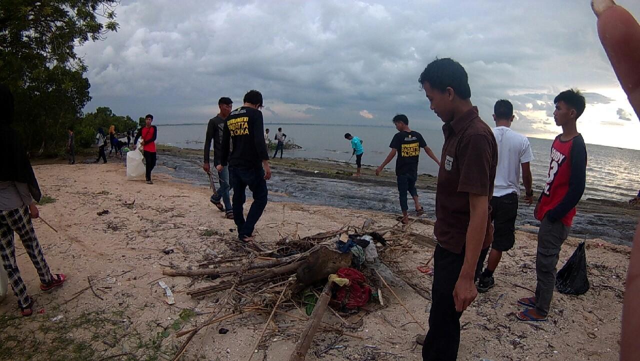 Jjs Maros Salewangang Bakti Bersih Pantai Kuri Caddi Dokumen Pict