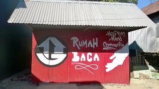 Pulang Kampung Community Store Rumah Baca Dusun Kuri Caddi Pantai