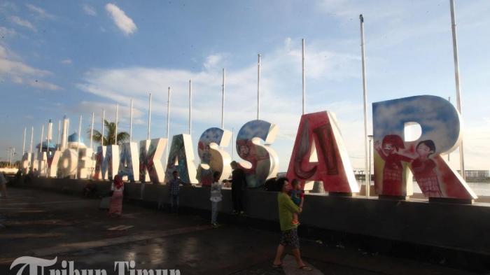 Agustus 500 Pasangan Bakal Nikah Anjungan Pantai Losari Makassar Kota
