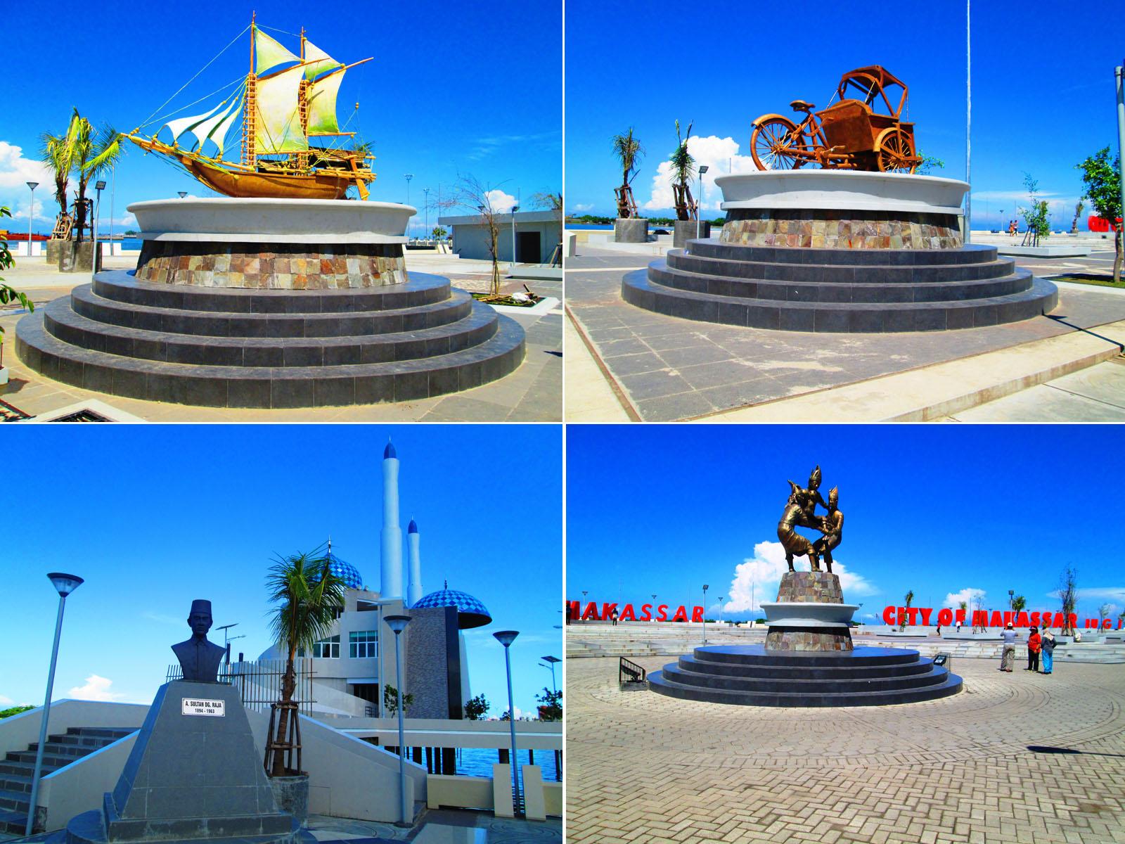 Anjungan Pantai Losari Makassar Decrowz Blog Kota