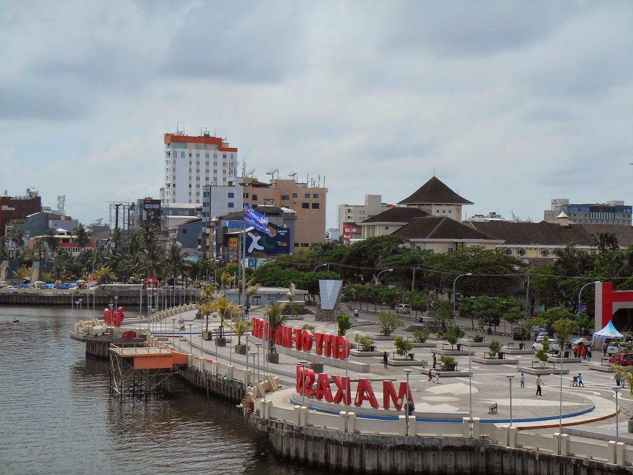 Keindahan Alam Wisata Pantai Losari Makassar Daradaeng Kota