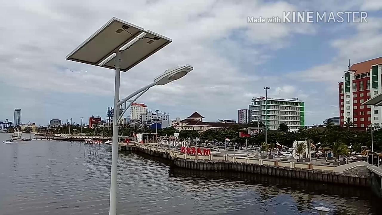 Keunikan Mesjid Terapung Pantai Losari Kota Makassar Youtube