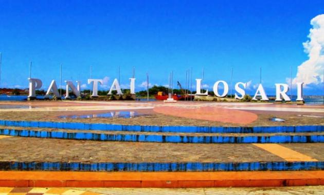 Menikmati Keindahan Pantai Losari Makassar Sulawesi Selatan Kota