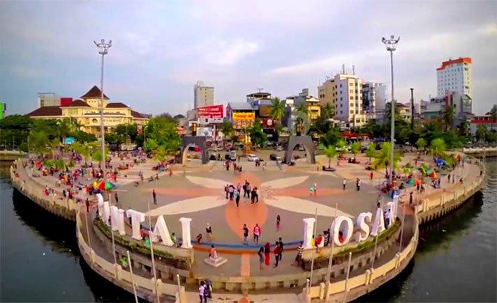 Pantai Losari Icon Kota Makassar