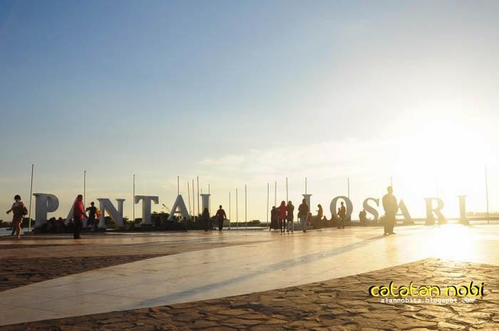 Pantai Losari Landmark Kota Makassar Catatan Nobi