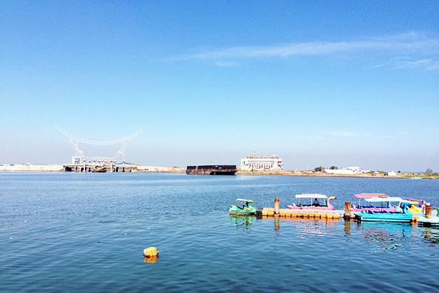 Pantai Losari Makassar Sulawesi Selatan Salah Satu Icon Kota Walau