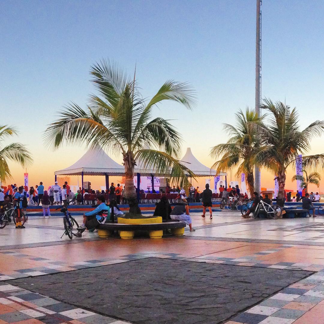 Pantai Losari Makassar Wisata Wajib Kamu Adi Uya Kota