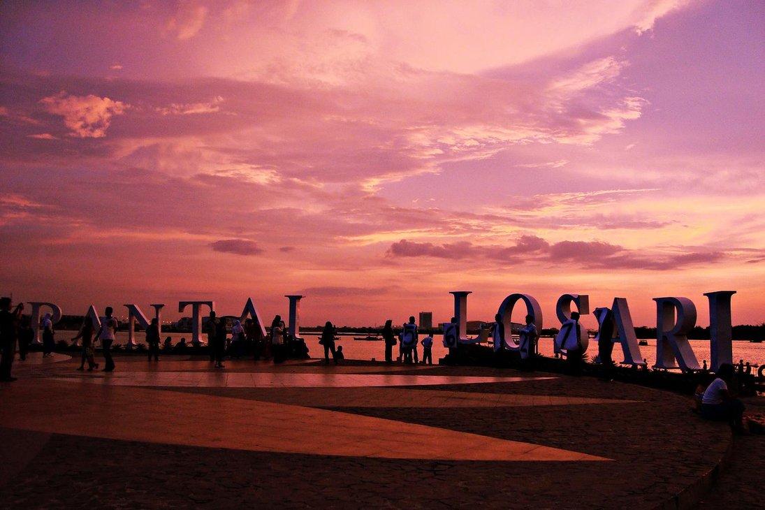 Wisata Makassar Pantai Losari Aneka Tempat Kota