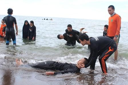 27 Peserta Diklatsar Xv Ikuti Matra Air Tanjung Bayang Sar