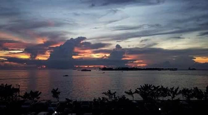 Berburu Siluet Senja Pantai Tanjung Bayang Regional Liputan6 Kota Makassar