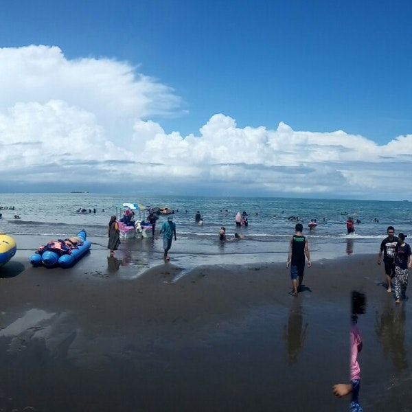 Foto Pantai Tanjung Bayang Makassar Diambil Oleh 12 10 2017