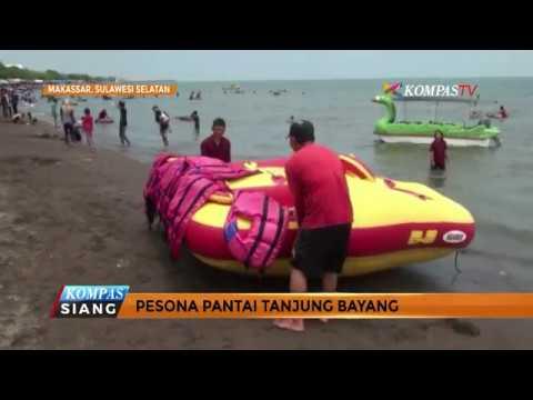 Melihat Pesona Pantai Tanjung Bayang Makassar Youtube Kota