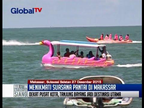 Menikmati Suasana Pantai Tanjung Bayang Makassar Bis 27 12 Kota