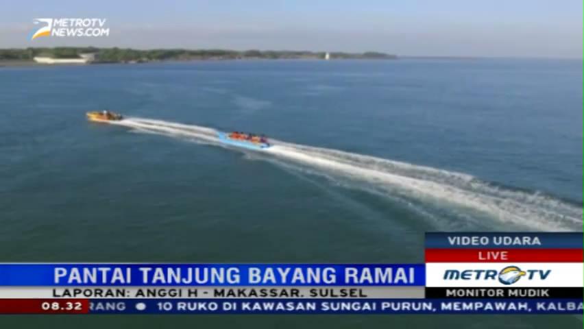 Metro News Pantai Tanjung Bayang Wisata Murah Meriah Kota Makassar