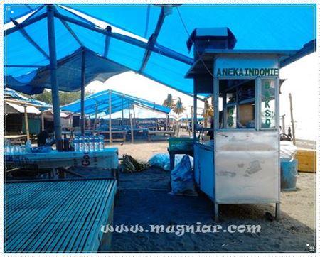 Siang Tanjung Bayang Mugniar Note Bale Gerobak Mie Instan Pantai