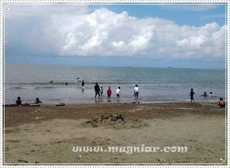 Siang Tanjung Bayang Mugniar Note Suasana Lengang Bikin Pantai Nyaman