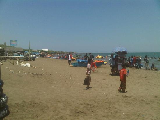 Sunset Pantai Tanjung Bayang Suasana Sepi Detik Magrib Bermain Speed