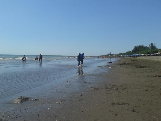 Sunset Pantai Tanjung Bayang Suasana Sepi Detik Magrib Walkbeach Sepanjang