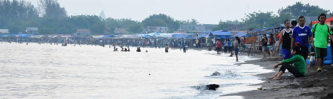 Tanjung Bayang Layak Jadi Pilihan Tempat Berlibur Sinar Matahari Samar