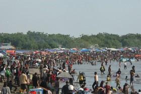 Tiga Pelajar Tewas Tenggelam Tanjung Bayang Tribun Timur Pantai Kota