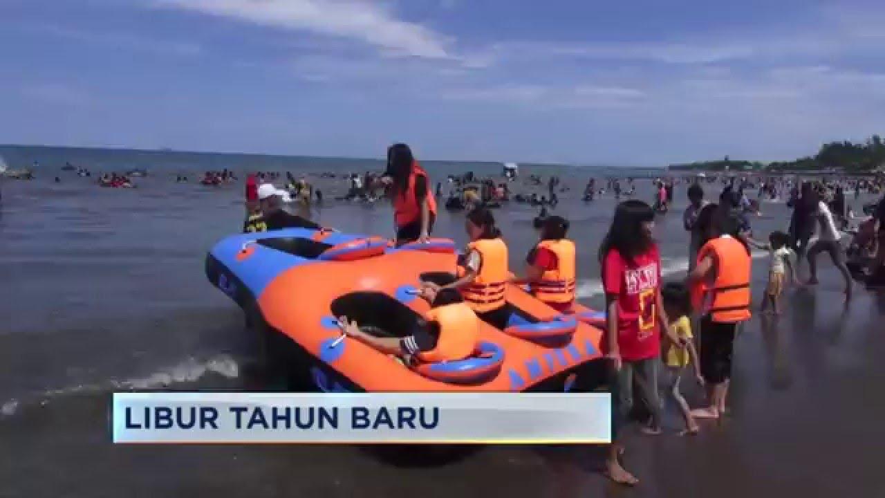 Wisata Pantai Tanjung Bayang Youtube Kota Makassar